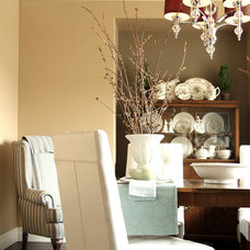 Traditional Dining Room by Capstone Dwellings, Design-Build