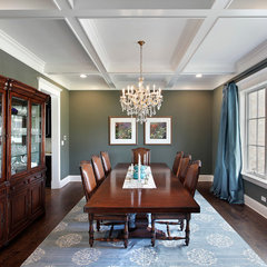 traditional dining room by Sterling Wilson Design