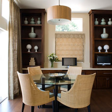 Contemporary Dining Room by The Art of Room Design