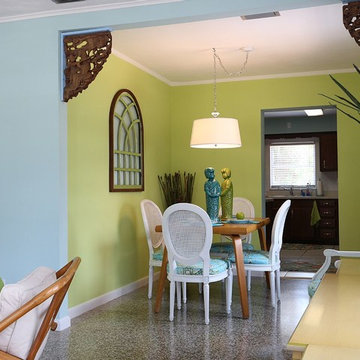 Design Projects - Coral Cottage - Vero Beach FL - ARTifacts/Green Antiques