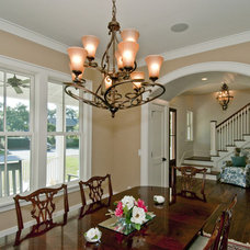 Traditional Dining Room by Carolina Lanterns