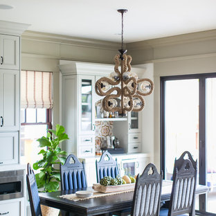 Inspiration For An Eclectic Medium Tone Wood Floor And Brown Great Room Remodel In San