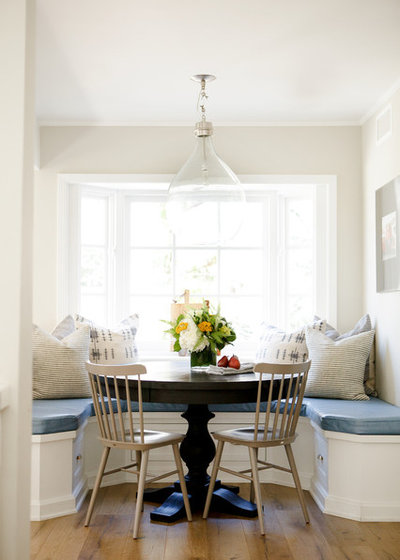 Traditional Dining Room by Brooke Wagner Design