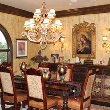 Mediterranean Dining Room by Fonseca Group Inc