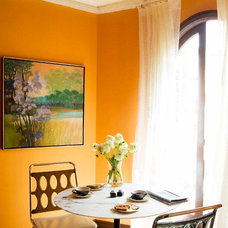 Eclectic Dining Room by John K. Anderson Design