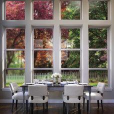 Contemporary Dining Room by Milgard Windows & Doors
