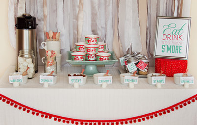 Refreshing Color Pops for Holiday Tabletops