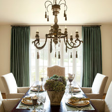 Traditional Dining Room by Providence Design