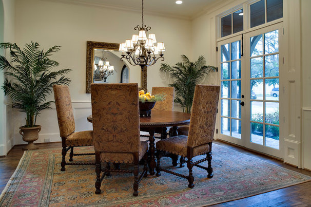 Traditional Dining Room by LRO Residential