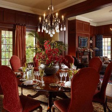 Diablo Mansion: Dining Room