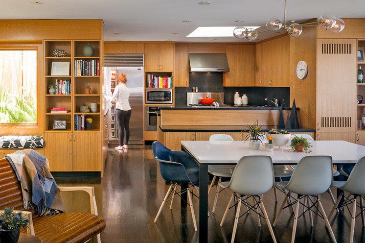 Midcentury Dining Room by Regan Baker Design