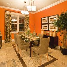 Contemporary Dining Room by Progress Lighting