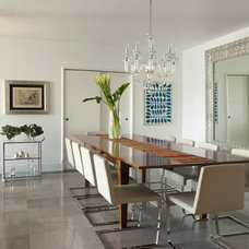Modern Dining Room by vgzarquitectura y diseño sc
