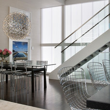 Contemporary Dining Room by Doyle McCullar