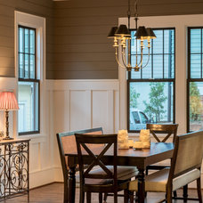 Traditional Dining Room by Saussy Burbank