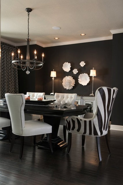 Modern Dining Room by Kathleen Ramsey, Allied ASID