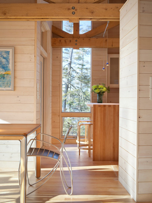 Tongue And Groove Knotty Pine Houzz