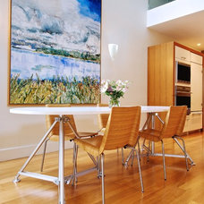 Modern Dining Room by Andrew Snow Photography