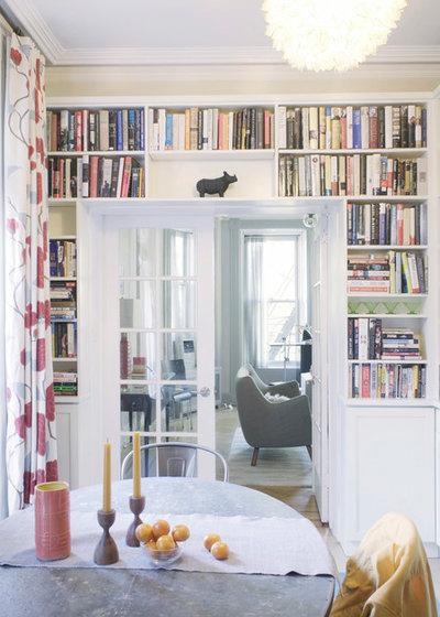 Contemporary Dining Room by Julia Mack Design, LLC