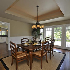 Traditional Dining Room by Hamilton-Gray Design, Inc.