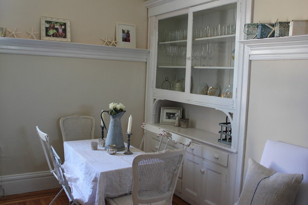 Shabby-chic Style Dining Room dining area