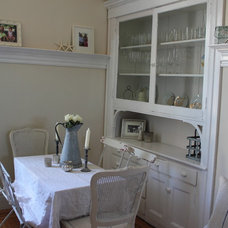 Eclectic Dining Room dining area