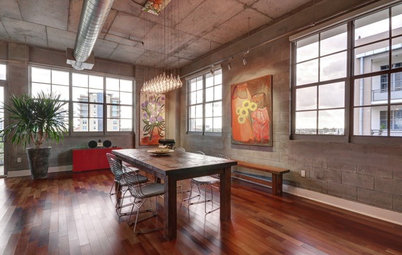 Houzz Tour: Downsizing for Loft Living in Fort Lauderdale