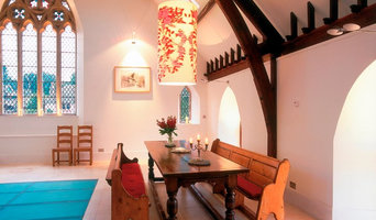 dining area in church conversion
