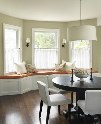American Traditional Dining Room by Kate Jackson Design