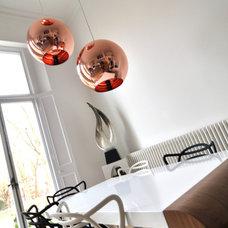 Contemporary Dining Room by Kia Designs