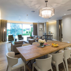 Contemporary Dining Room by Folio Design LLP