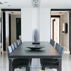 Modern Dining Room by MetropolitanDecor.com
