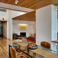Modern Dining Room by Logan's Hammer Building & Renovation