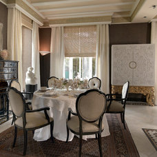 Eclectic Dining Room by Luxurious Living