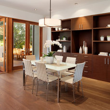 Contemporary Dining Room by Ohashi Design Studio