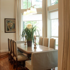 traditional dining room by Terri Symington, ASID