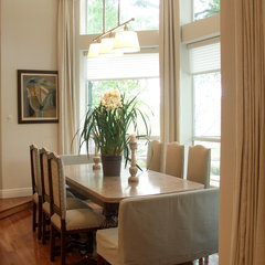 eclectic dining room by Terri Symington, ASID