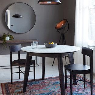 На фото: столовые в стиле фьюжн
