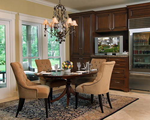 Custom Cabinets in Kitchen, Dining and Home Office