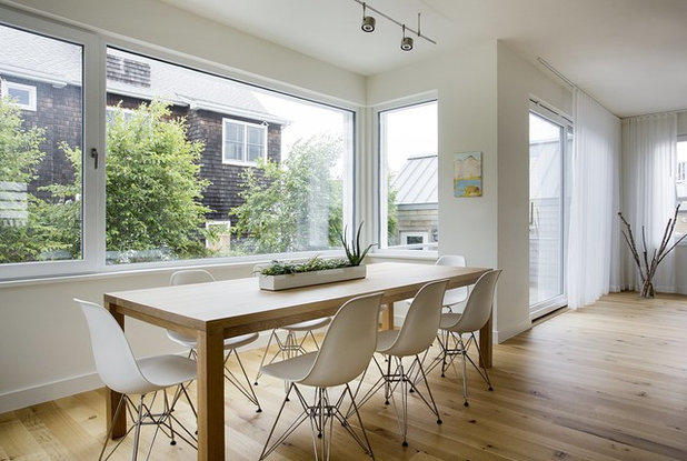 Contemporary Dining Room by ZeroEnergy Design