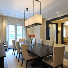 contemporary dining room by Sherwood Custom Homes