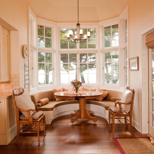 Admirable Semi Circle Bench Dining Room Ideas Photos Houzz Ncnpc Chair Design For Home Ncnpcorg