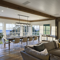 traditional family room by Ike Kligerman Barkley