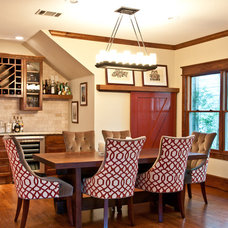 Eclectic Dining Room by Butter Lutz Interiors, LLC