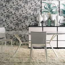 Contemporary Dining Room by usona