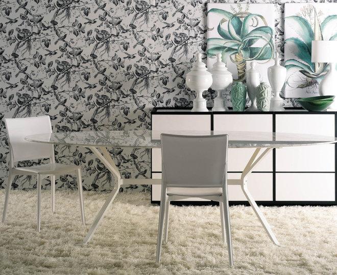 Contemporary Dining Room by usona