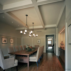 Modern Dining Room by Christian Tennant Custom Homes