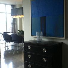 Modern Dining Room by David Nosella Interior Design