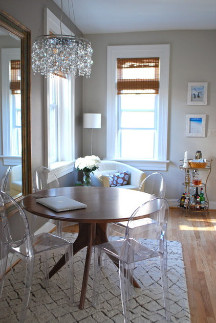 Eclectic Dining Room by Megan Blake Design