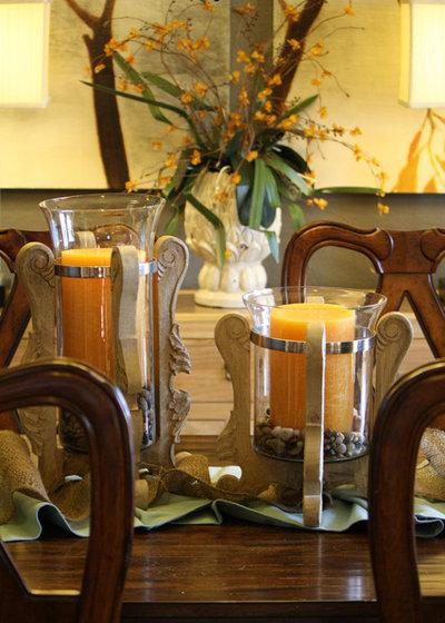 Contemporary Dining Room by Cristi Holcombe Interiors, LLC